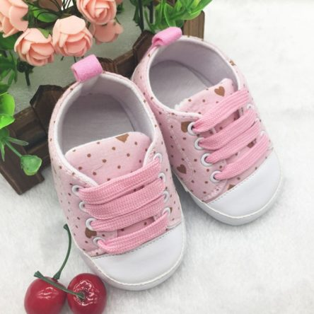0-12 Month Infants Newborns Soft Soled Crib ShoesKid Casual Walkers Sneaker
