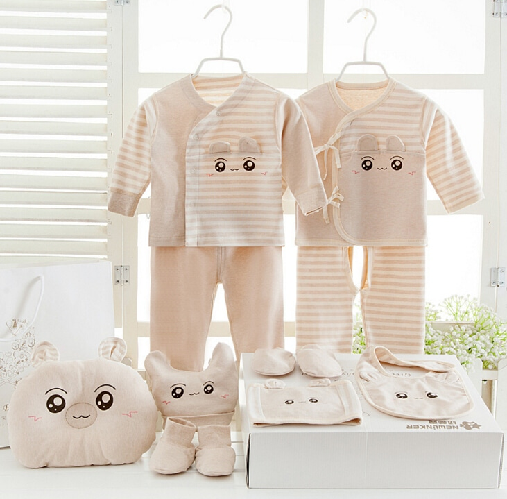 100 Cotton Newborn Clothes Baby Gift Box Set Baby Products Newborn