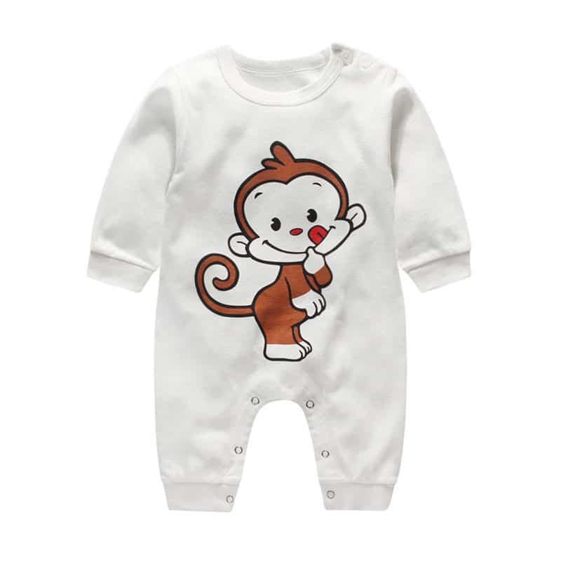 e35e2478e2a9 2017 Christmas deer style newborn baby boy girls winter clothes ...