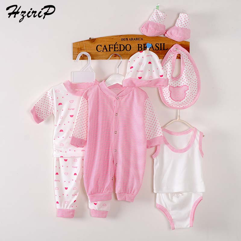 8 Pieces Baby Gift Set Newborn Clothes Unisex Baby Girl Clothes Baby