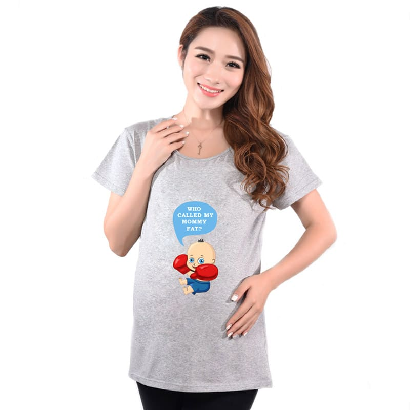 566536ebbe8 Brand Maternity T Shirts Casual Pregnancy Maternity Clothes Baby Peeking  Out Funny Maternity Shirts For Pregnant Woman Tees