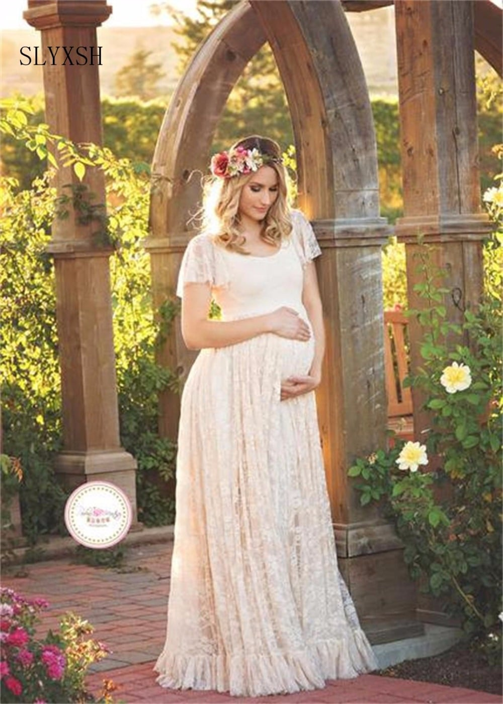 SLYXSHNew Maternity Photography Props Pregnancy Clothes Maternity ...